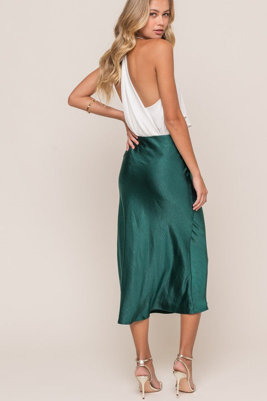 Holiday Spirit - Midi Skirt