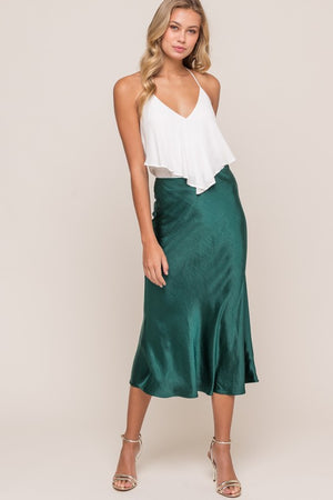 Fall Vibes - Midi Skirt