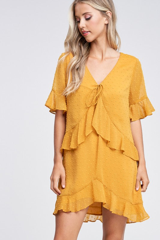 Just Between Us - Ruffle Dress