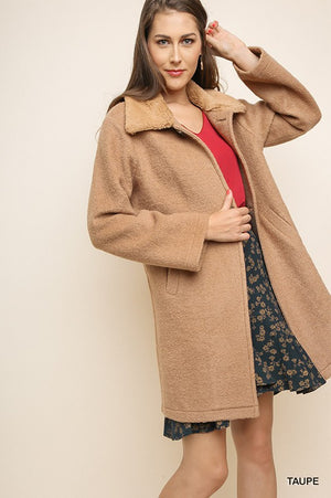 Faux Real?! Collar Coat