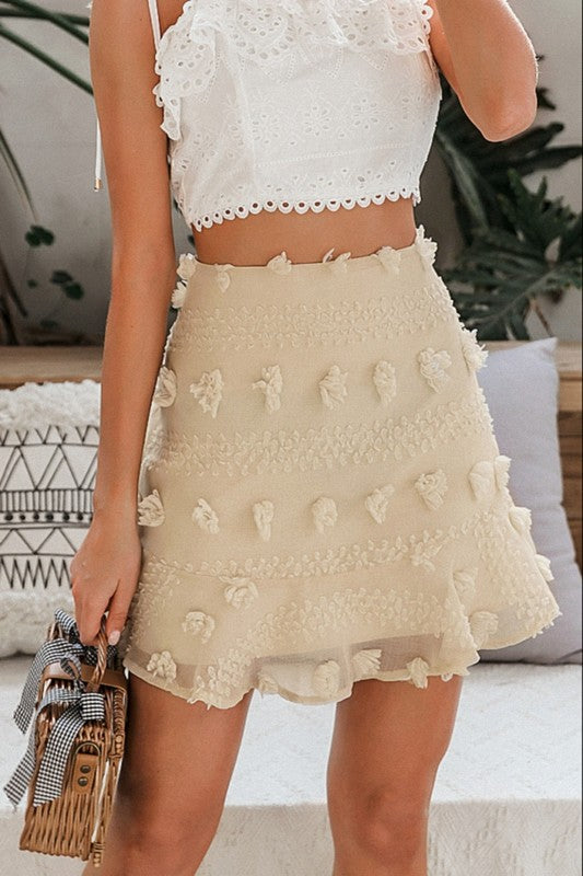 Touch of Fancy - Embellished Skirt