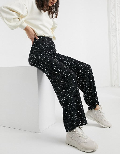 Connect the Dots - Wide Leg Pants