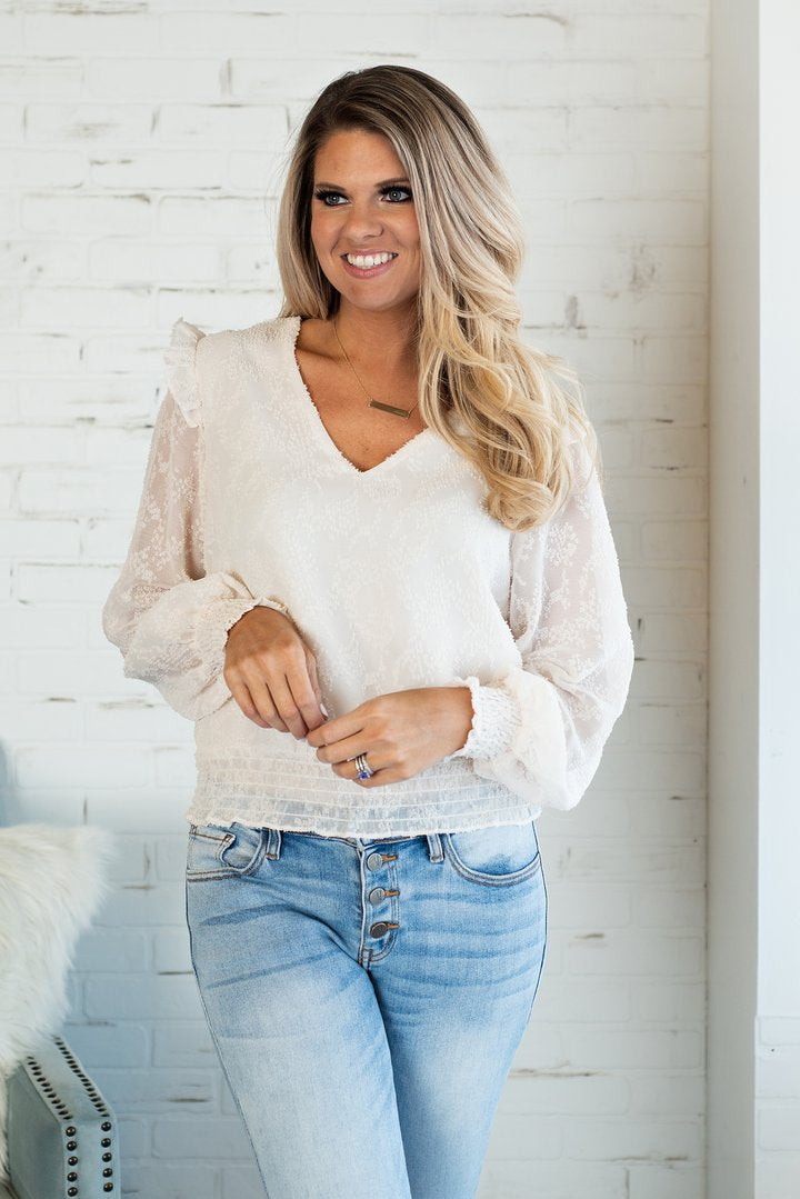 Fall Bliss - Ruffle Blouse