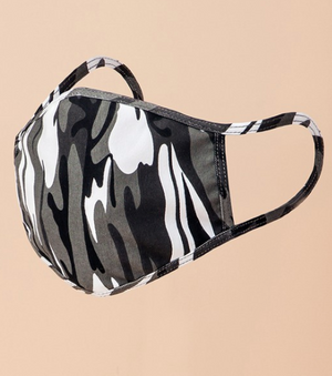 Now You See Me - Camo Print Mask