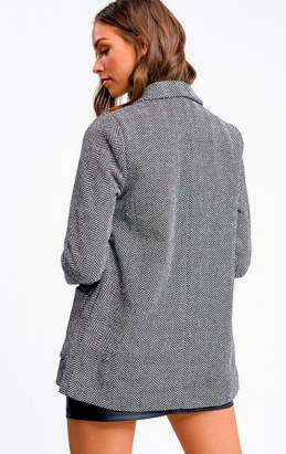 Level Up - Herringbone Blazer