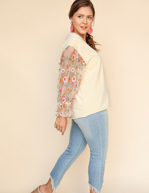 A Floral Affair - Detailed Top