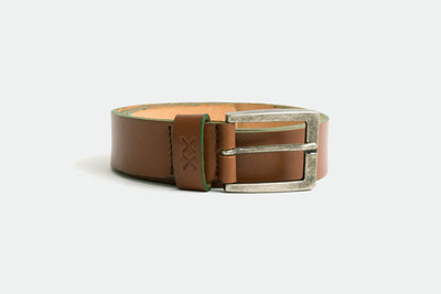 Leather Belt - ColorBorder