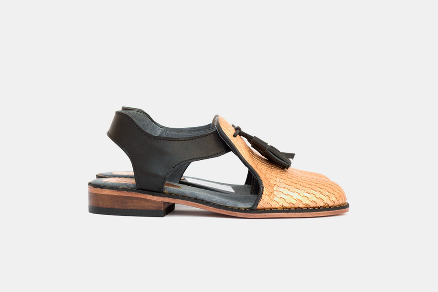 Baulu - Copper / Black