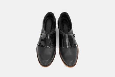 Monk - Black / Patent
