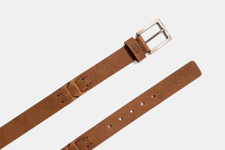 Leather Belt- Junction