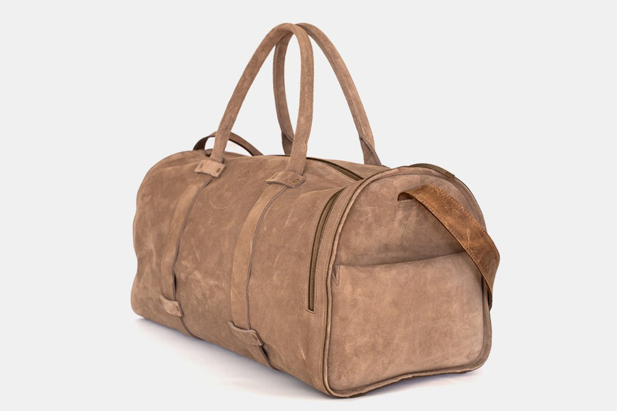 The Weekender Bag - Suede