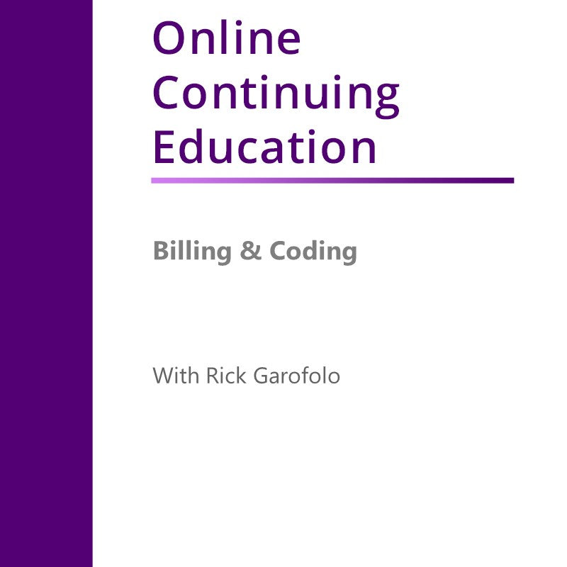 Billing And Coding