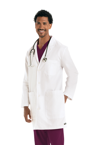 "لابكوت جريز أناتومي بطول ٣٧ إنش~Men's 37"" Lab Coat"