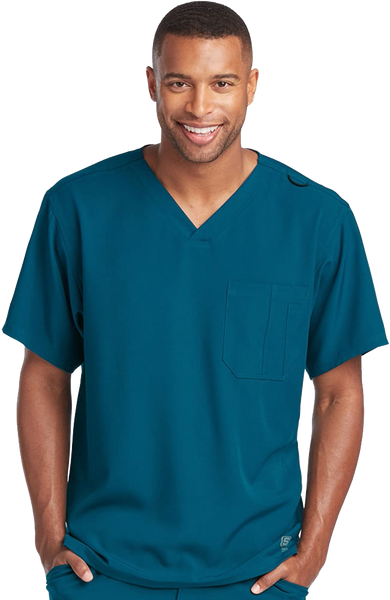 بلوزة سكتشرز جيب واحد ~One pocket Scrub Top