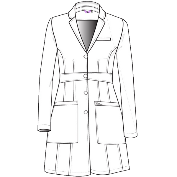 تيلرد امبير لابكوت طويل~Tailored Empire Long Length Lab Coat