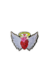دبوس أجنحة القلب~Wings Heart Pin