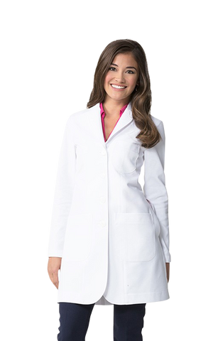ايلودى ام3  سليم  فيت لابكوت~Ellody Petite Slim Fit M3 LAB COAT