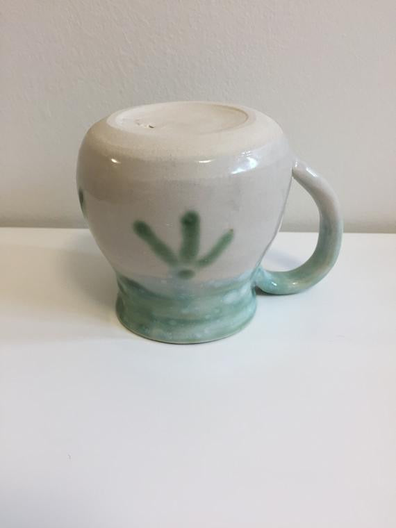 Bamboo Hand-Pottered Tea Cup (7oz)
