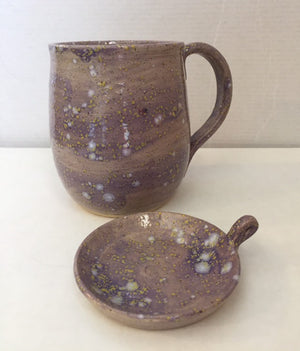 Shelley's Artistry Co. Hand-Thrown Pottery Teacups