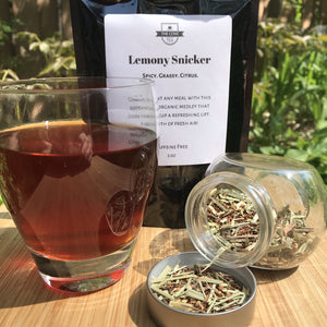 Lemony Snicker Liquor Colour and Loose Leaf Tea 2 oz Pouch - The Cove Tea Company - Spruce Grove Alberta Canada