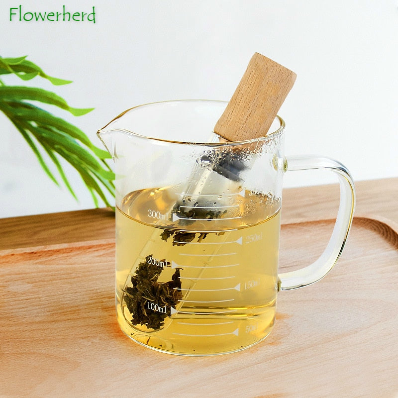 Reusable Glass Loose Leaf Tea Infuser