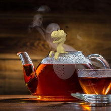 Load image into Gallery viewer, Baby Dinosaur with Egg Tea Infuser