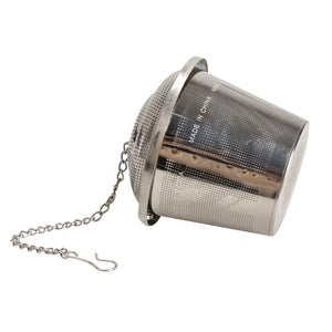 Stainless Steel Mesh Loose Leaf Tea + Spice Infuser with Lid