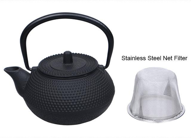 Teapot - Japanese Tetsubin Cast Iron Teapot With Stainless Steel Tea Infuser