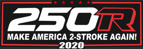 """Make America 2-Stroke Again"" decal"