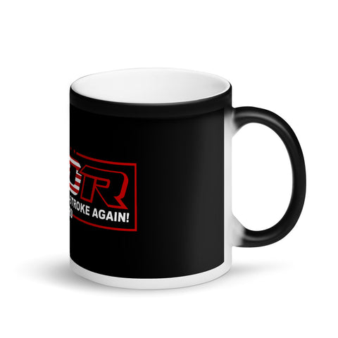 Make America 2 Stroke Again Matte Black Magic Mug