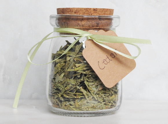 Cedar Sage Herb Jar - Mindful Intentions