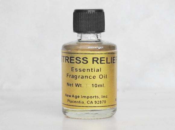 Stress Relief Essential Oil- 10ml Bottle with Detailed Card - Mindful Intentions