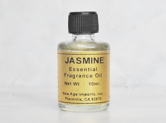 Jasmine Essential Oil- 10ml Bottle with Detailed Card - Mindful Intentions