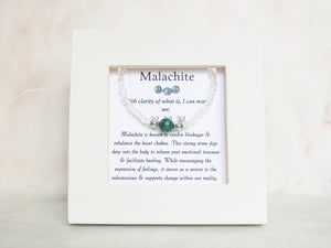 Malachite Framed Bracelet - Mindful Intentions