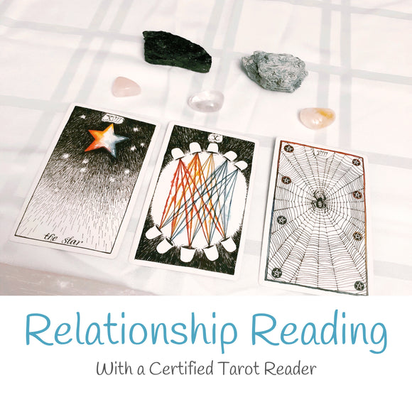 Relationship Reading- Written PDF - Mindful Intentions