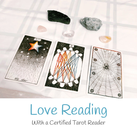 Love Reading- Written PDF - Mindful Intentions