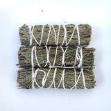 Cedar Sage Smudging Stick- Includes Ritual Instruction Card - Mindful Intentions