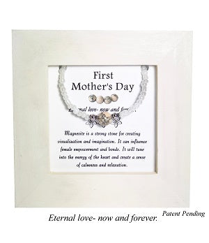 First Mother's Day-Magnesite Framed Bracelet - Mindful Intentions