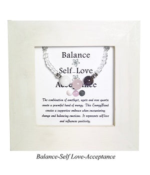 Balance-Self Love-Acceptance Framed EnergyBand