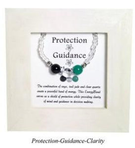 Protection-Guidance-Clarity Framed EnergyBand - Mindful Intentions