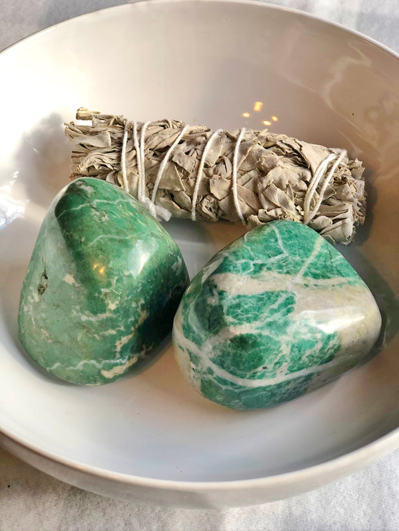 Dream Palm Stone- China Jade - Mindful Intentions