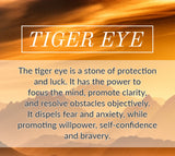 Brother- Men's Tiger Eye Bracelet - Mindful Intentions