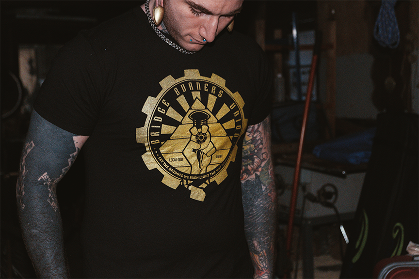 Bridge Burners Union Tee