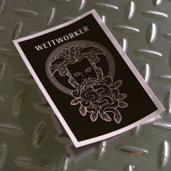 Medusa Beard Sticker