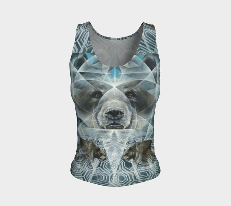 Noble Silence Fitted Tanktop