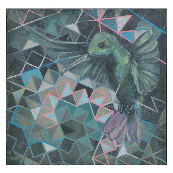 Hummingbird Paper + Canvas Prints