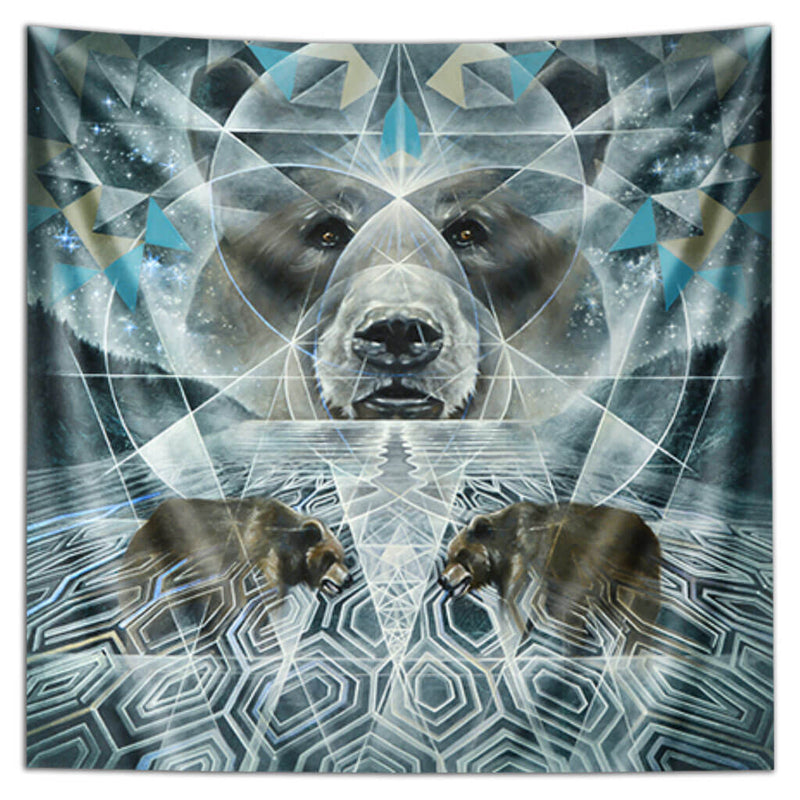 Noble Silence Tapestry