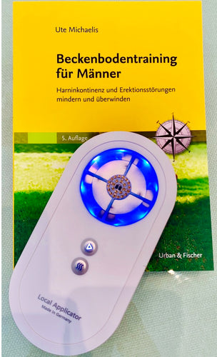 Local Applicator mit Buch