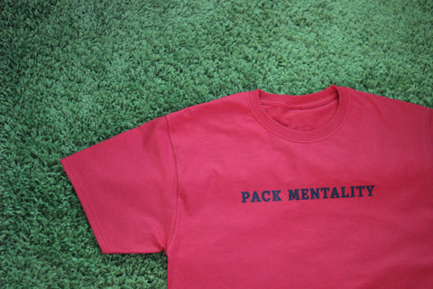 "Red Alpha Lupi ""Pack Mentality"" Tees"
