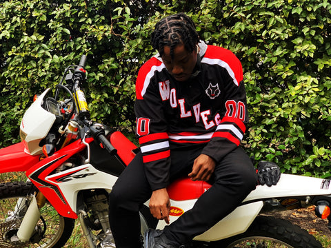 "*PRE-ORDER* Alpha Lupi ""Wolves"" Hockey Jersey"